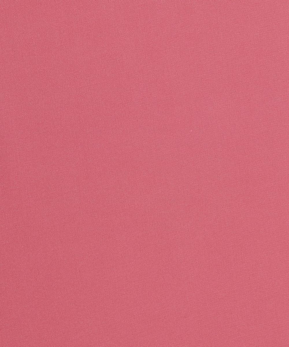 Liberty Fabrics - Camellia Plain Silk Crepe de Chine