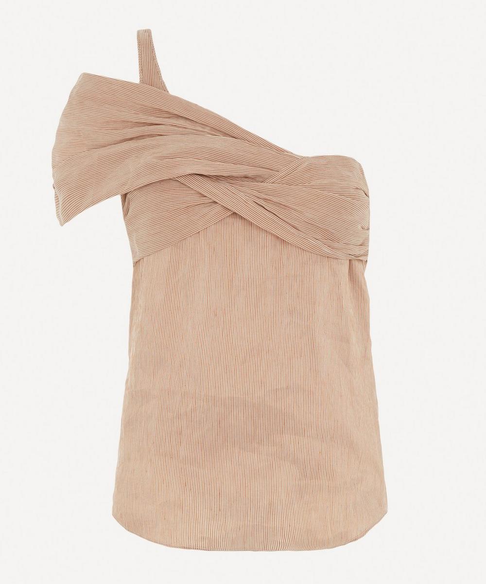 Chloé - Asymmetric Draped Top