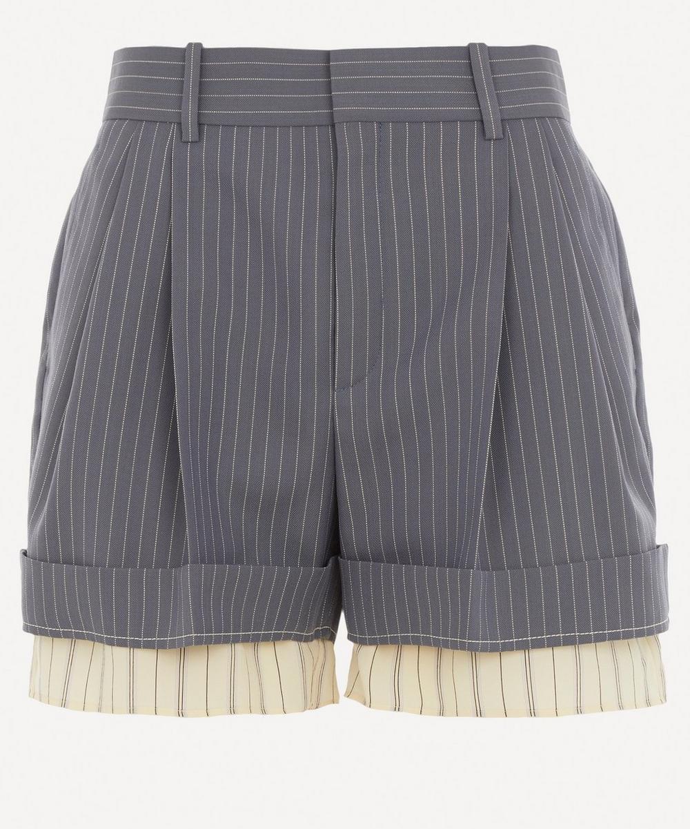 Chloé - Pinstripe Shorts