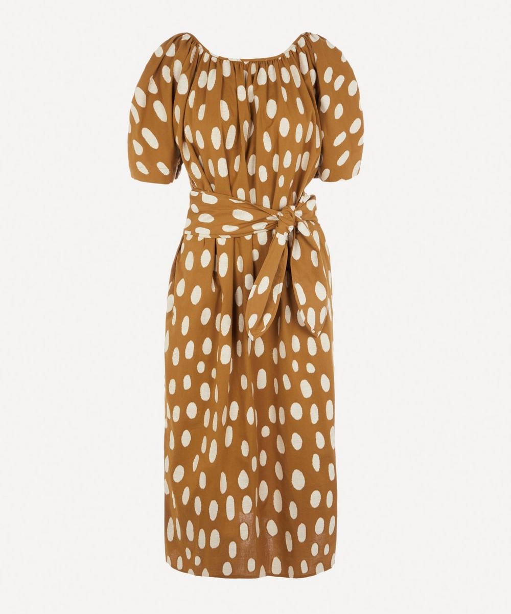 Mara Hoffman - Aliz Spotted Midi-Dress