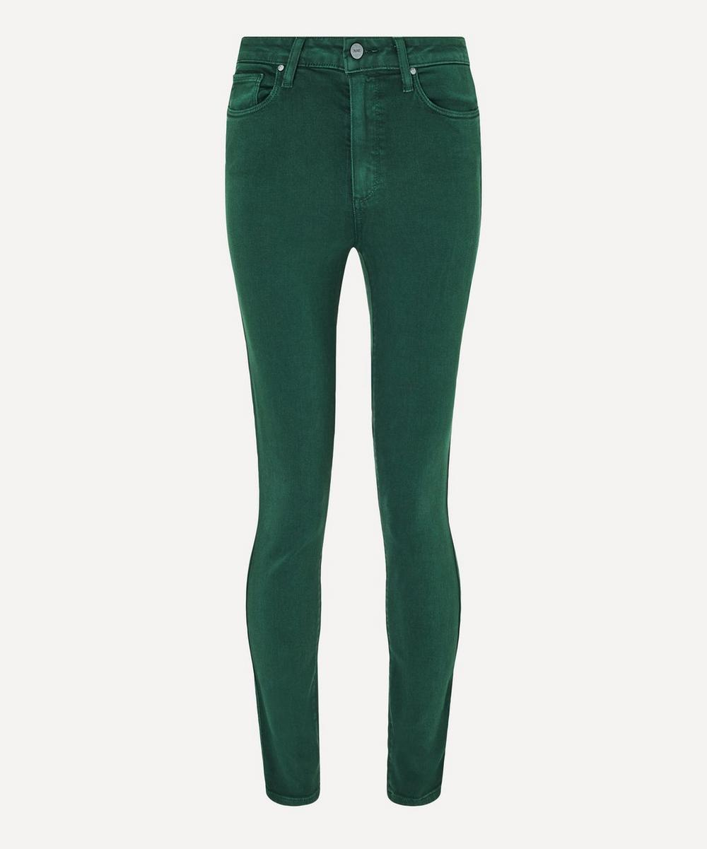 Paige - Hoxton Skinny Ankle Jeans
