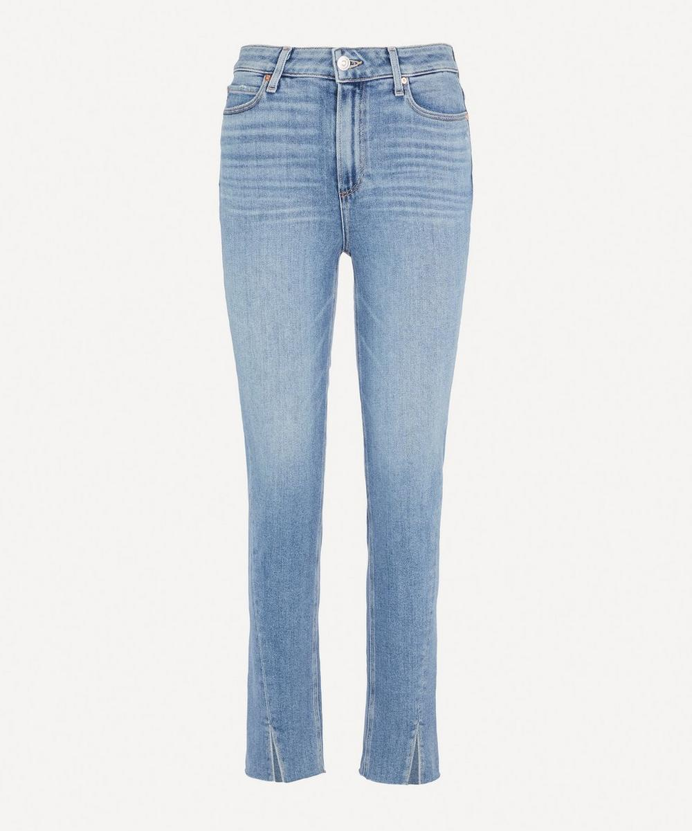 Paige - Hoxton Slim Twisted Jeans