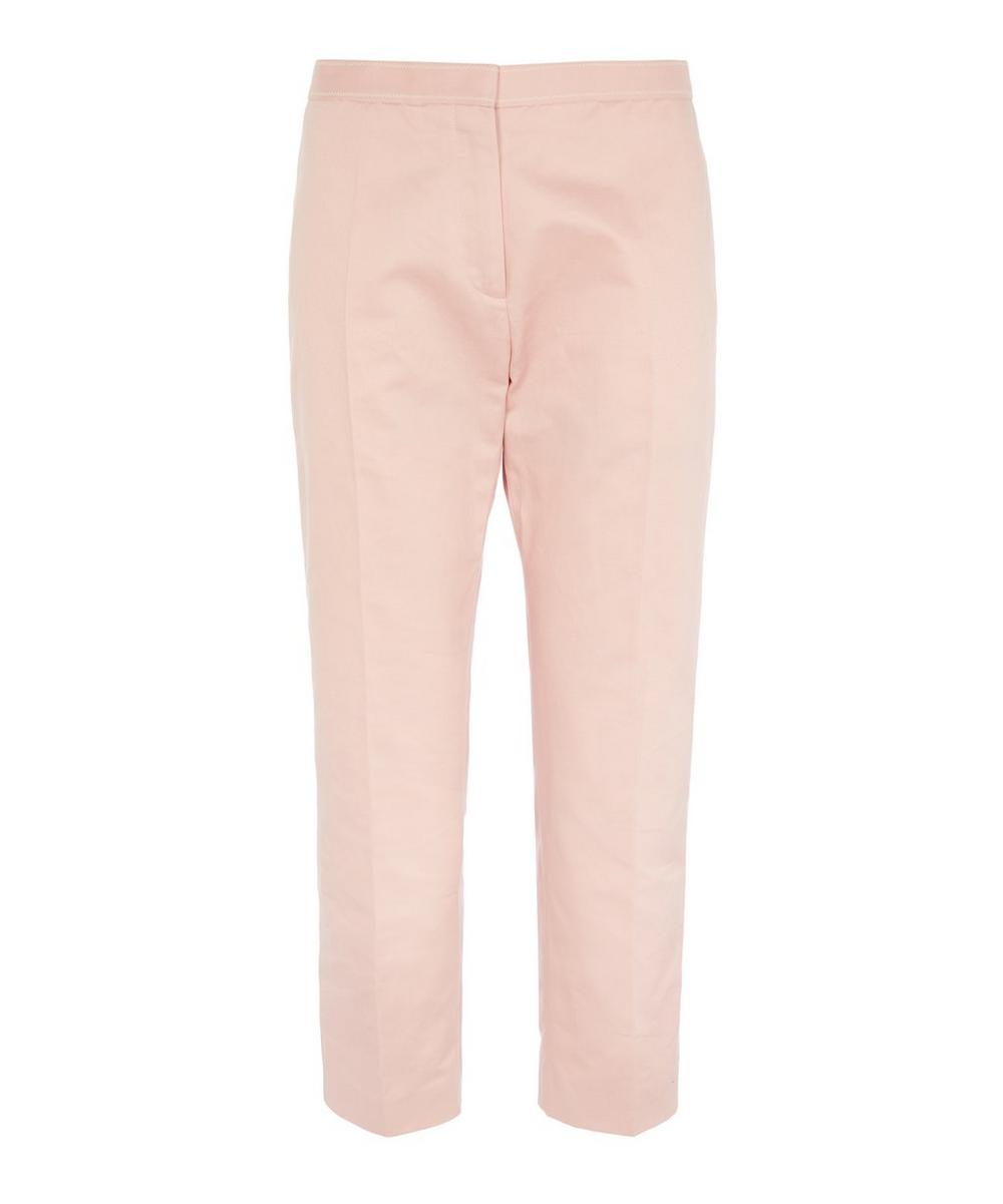 Marni - Tapered Cotton-Blend Trousers
