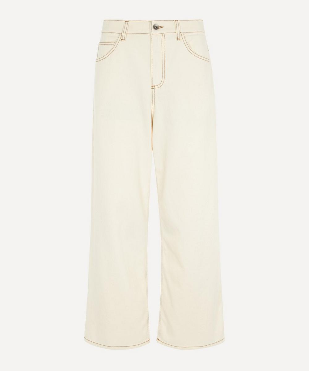 Marni - Crop Wide Leg Jeans