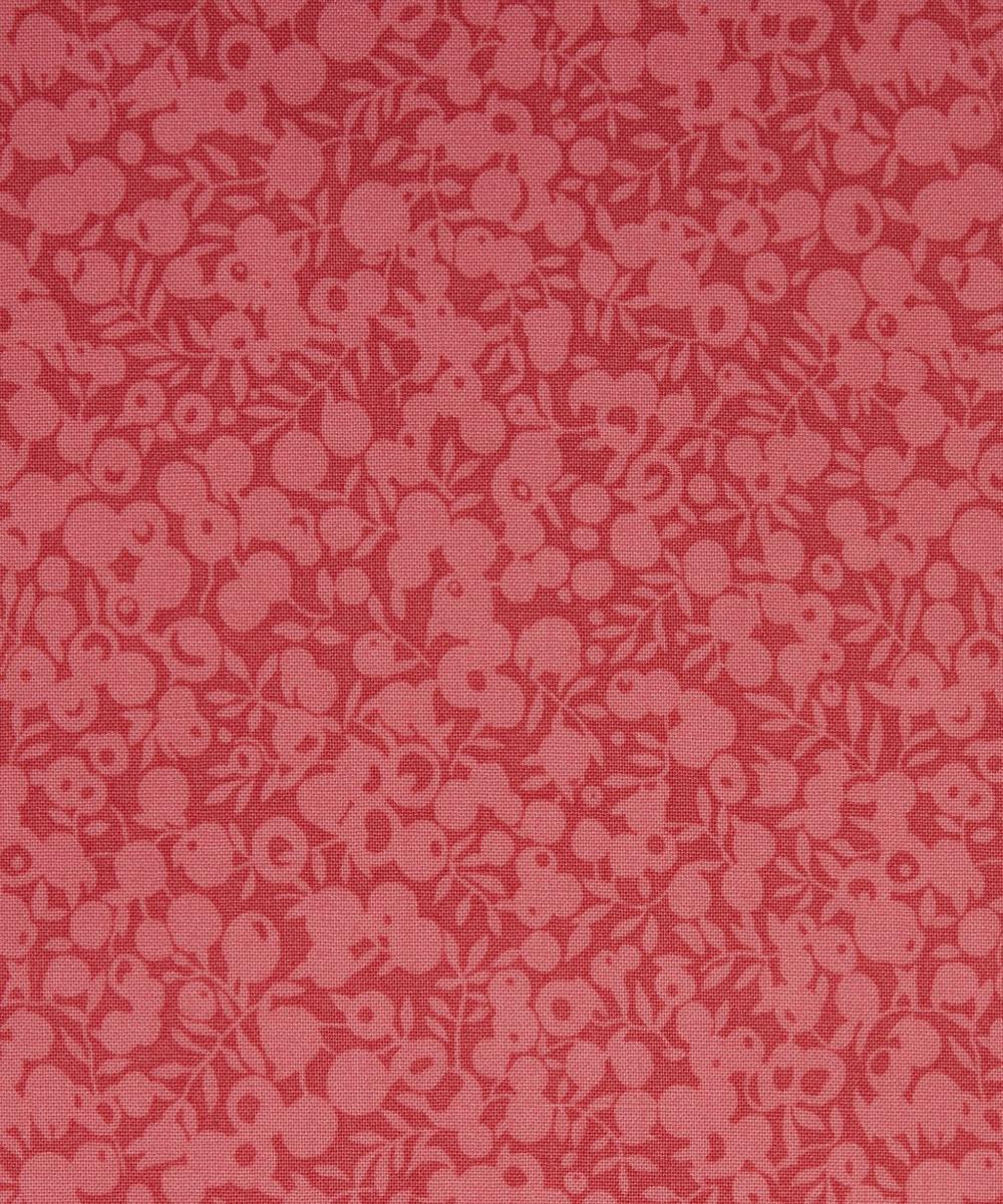 Liberty Fabrics - Rhubarb Wiltshire Shadow Lasenby Cotton