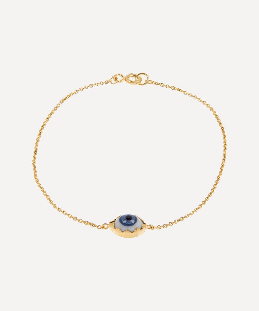 Grainne Morton - Gold-Plated Single Eye Bracelet