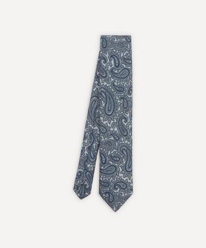 Hedingham Paisley Jacquard Silk Tie