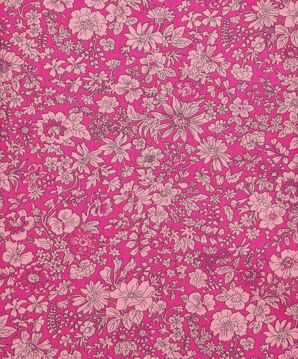 Liberty Fabrics - Emily Silhouette Flower Lasenby Cotton