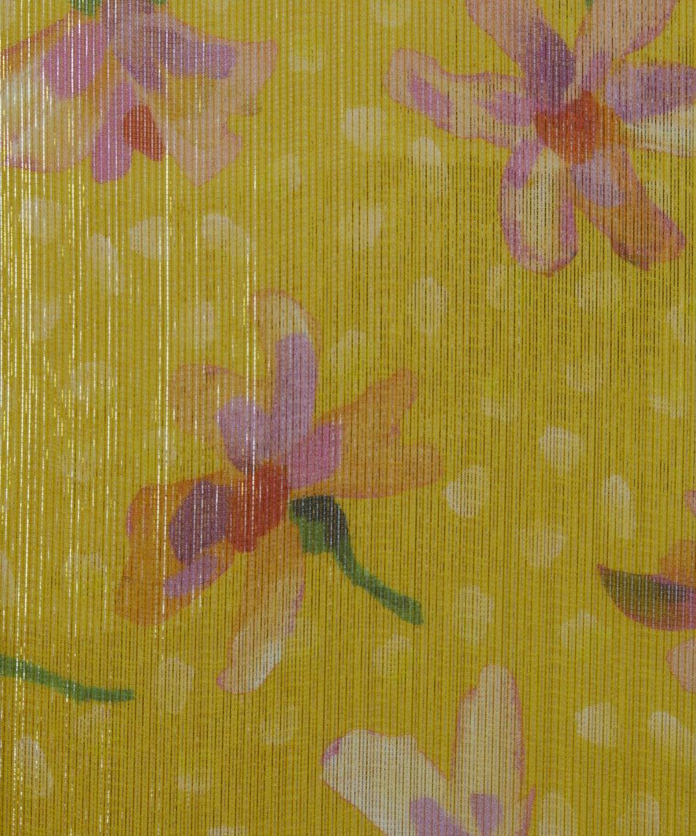 Liberty Fabrics - Sun Daisy Silk Lamé
