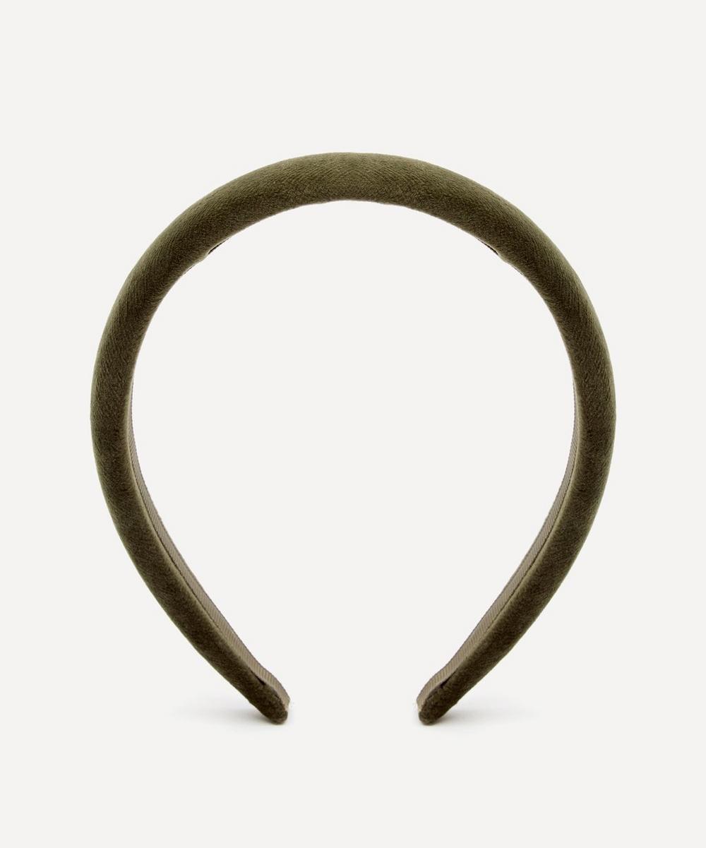 THE UNIFORM - Velvet Padded Headband