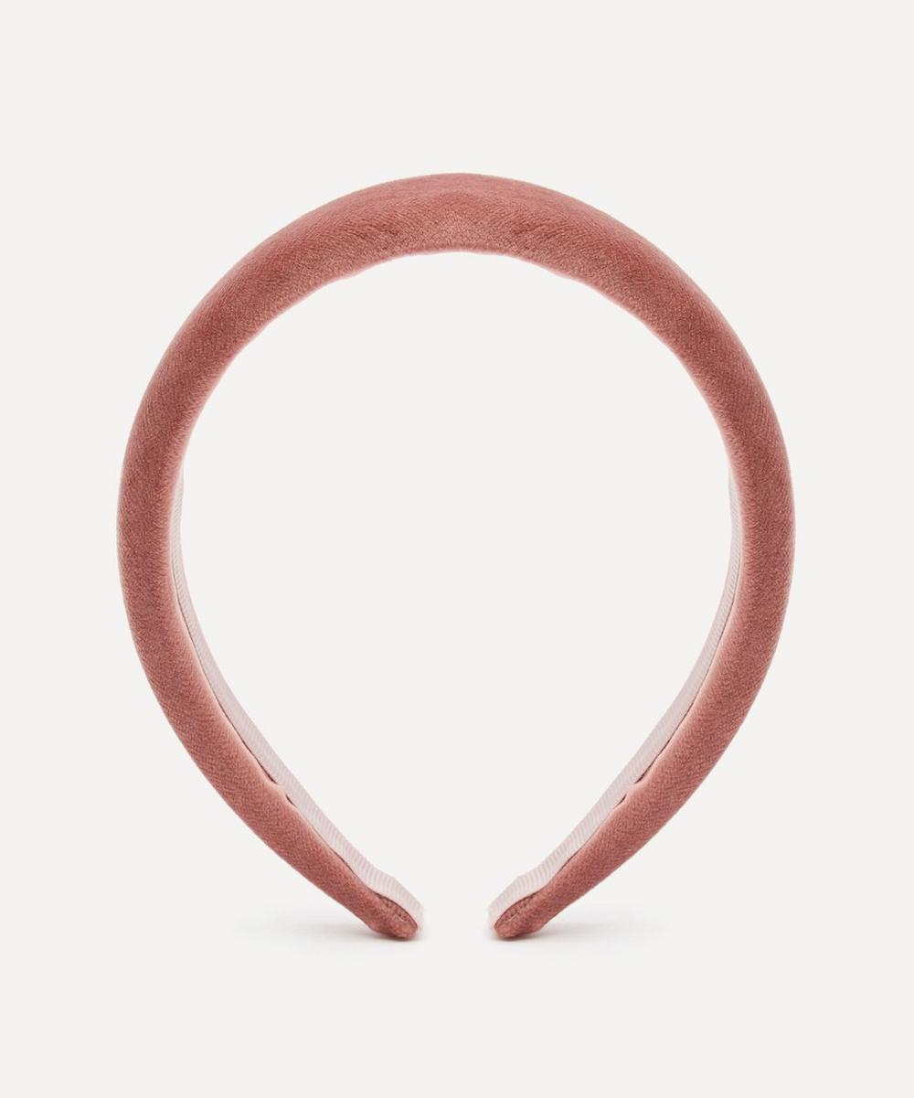 THE UNIFORM - Padded Velvet Headband