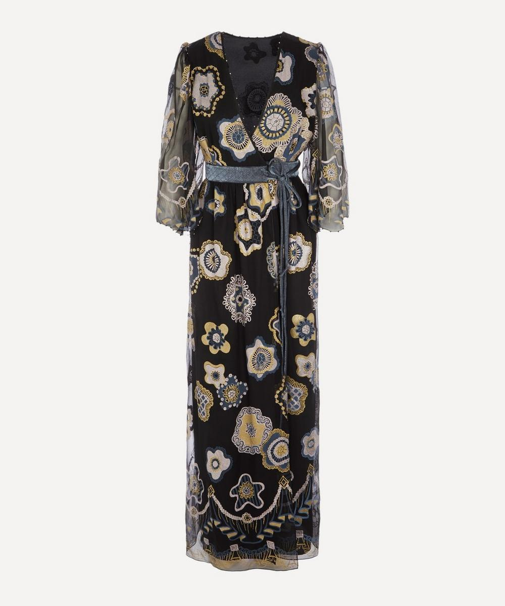 Zandra Rhodes - Jewel Flower Wrap Dress