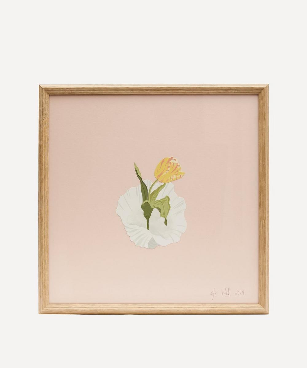 Isla Simpson - Tulip and Shell Framed Artwork