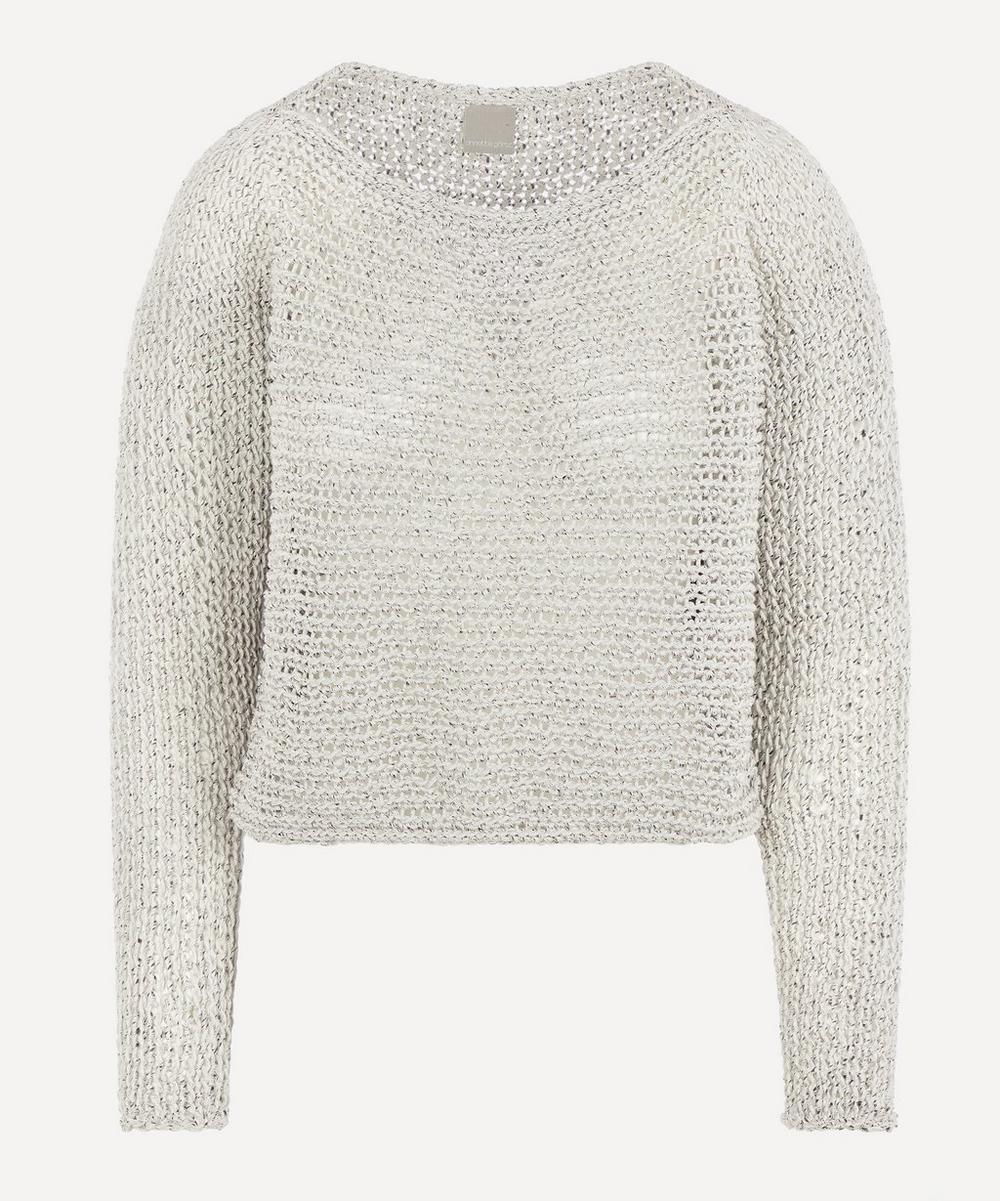Annette Görtz - Bell Open Weave Knitted Jumper