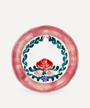 Rose Pink Dinner Plate