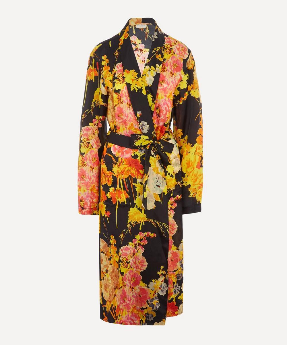 Dries Van Noten - Floral Satin Kimono