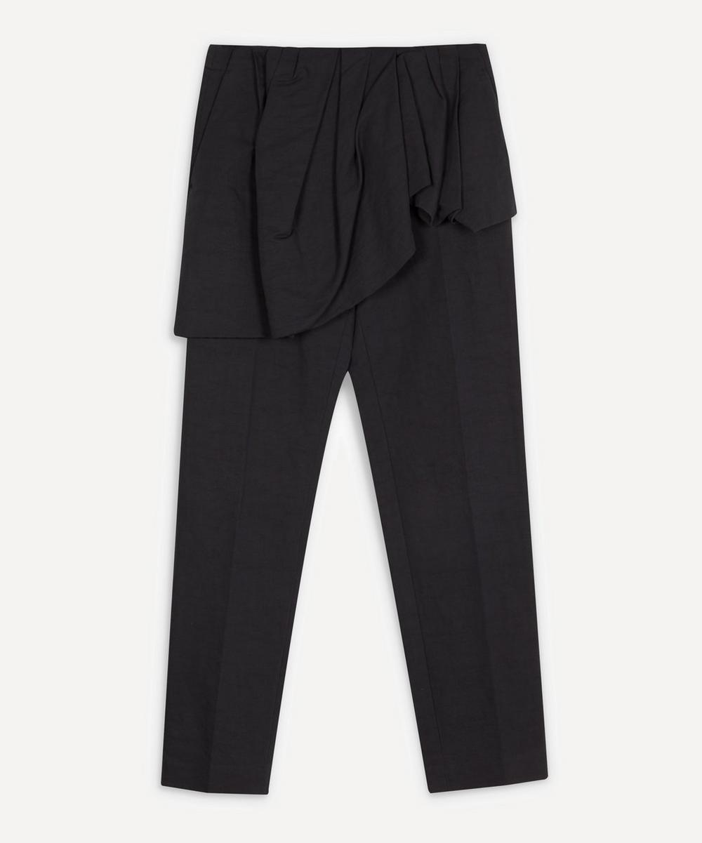 Dries Van Noten - Peplum Skirt Tapered Trousers