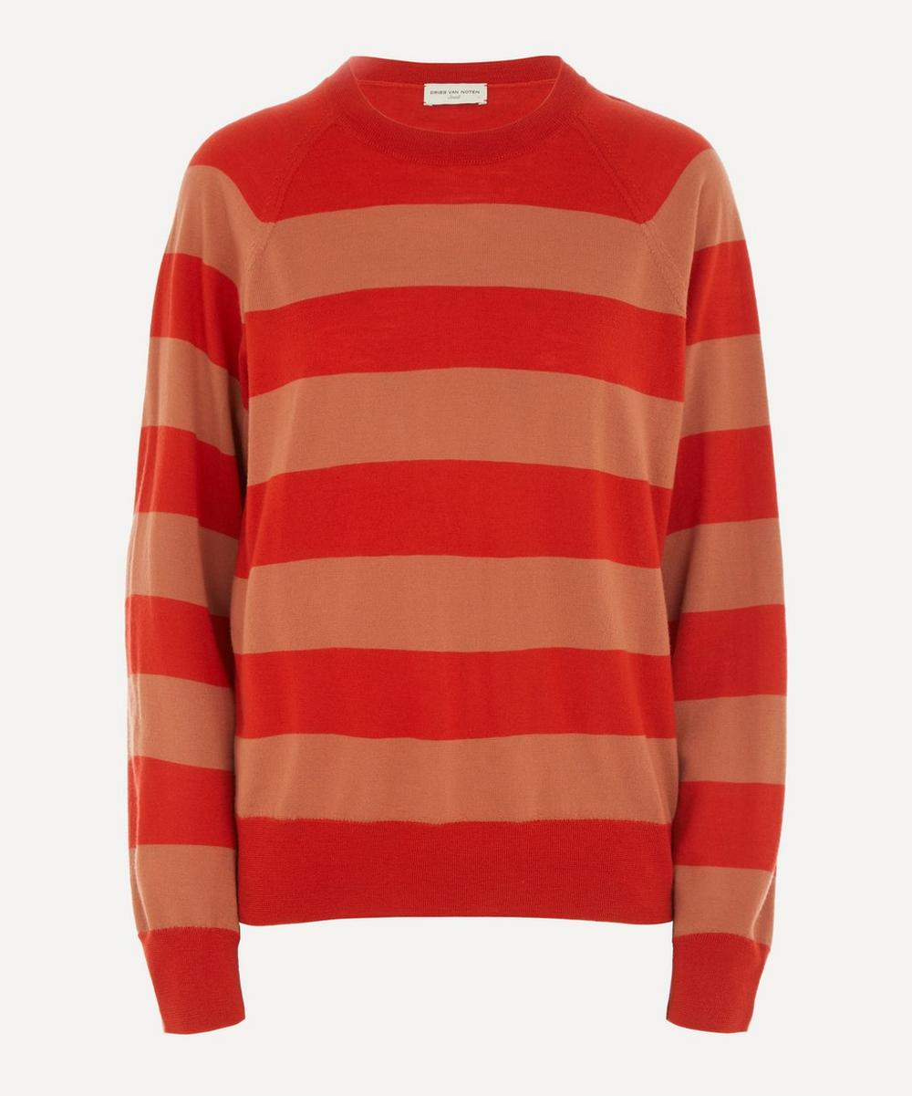 Dries Van Noten - Striped Merino Wool Jumper