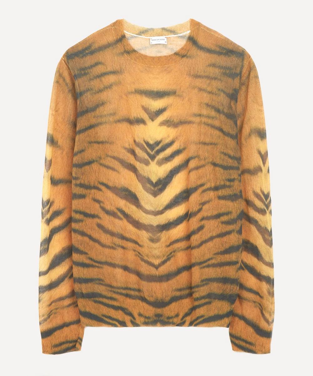 Dries Van Noten - Animal Print Sweater