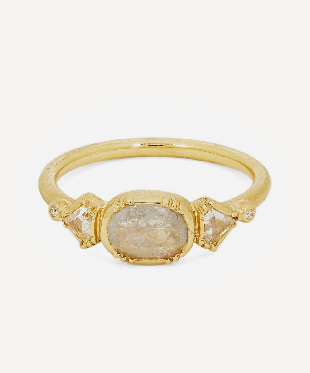 Brooke Gregson - Gold Triple Geo Diamond Ring