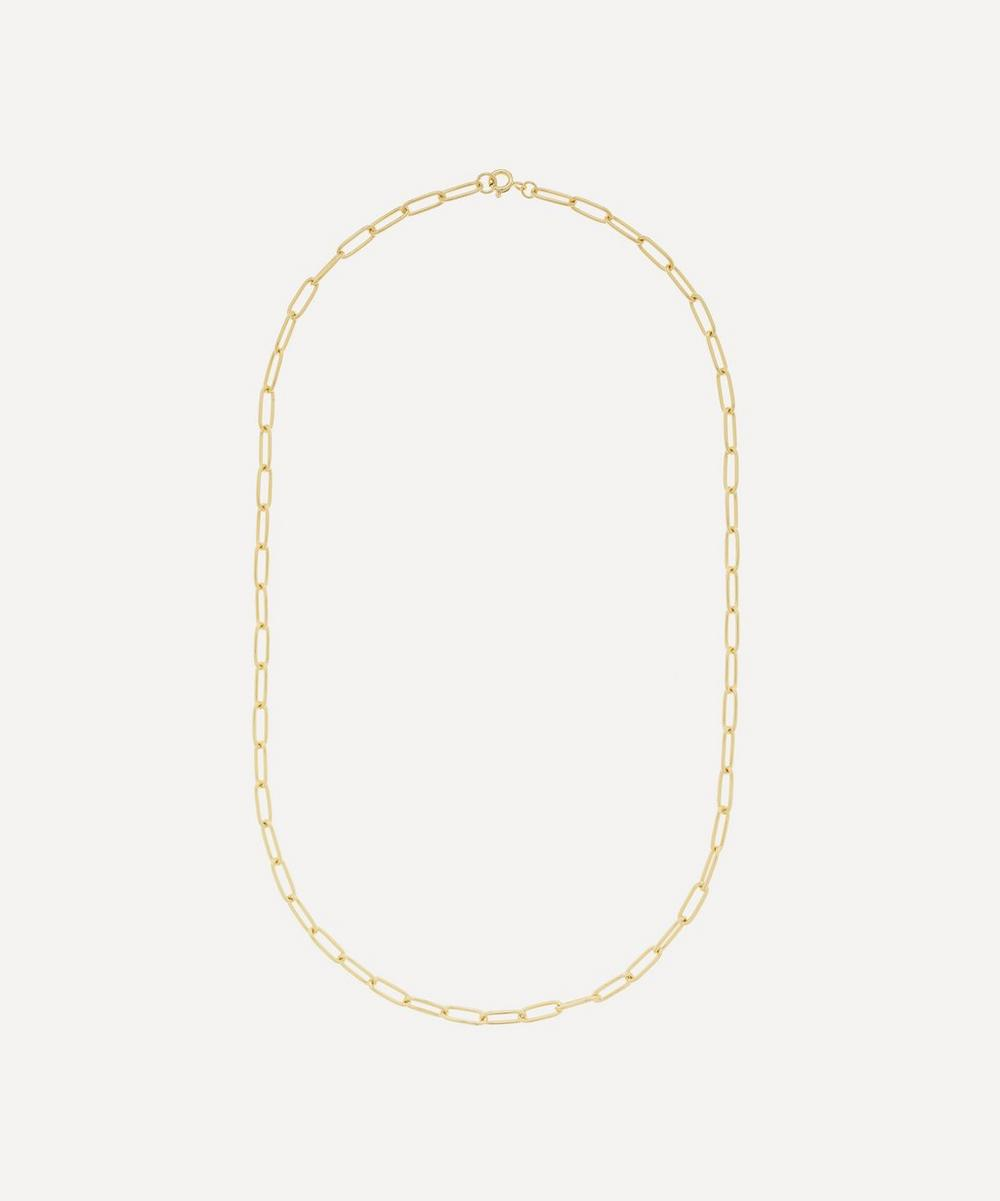 THE UNIFORM - Gold-Plated Medium Chain Necklace