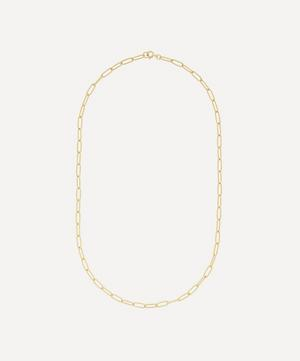 Gold-Plated Medium Chain Necklace