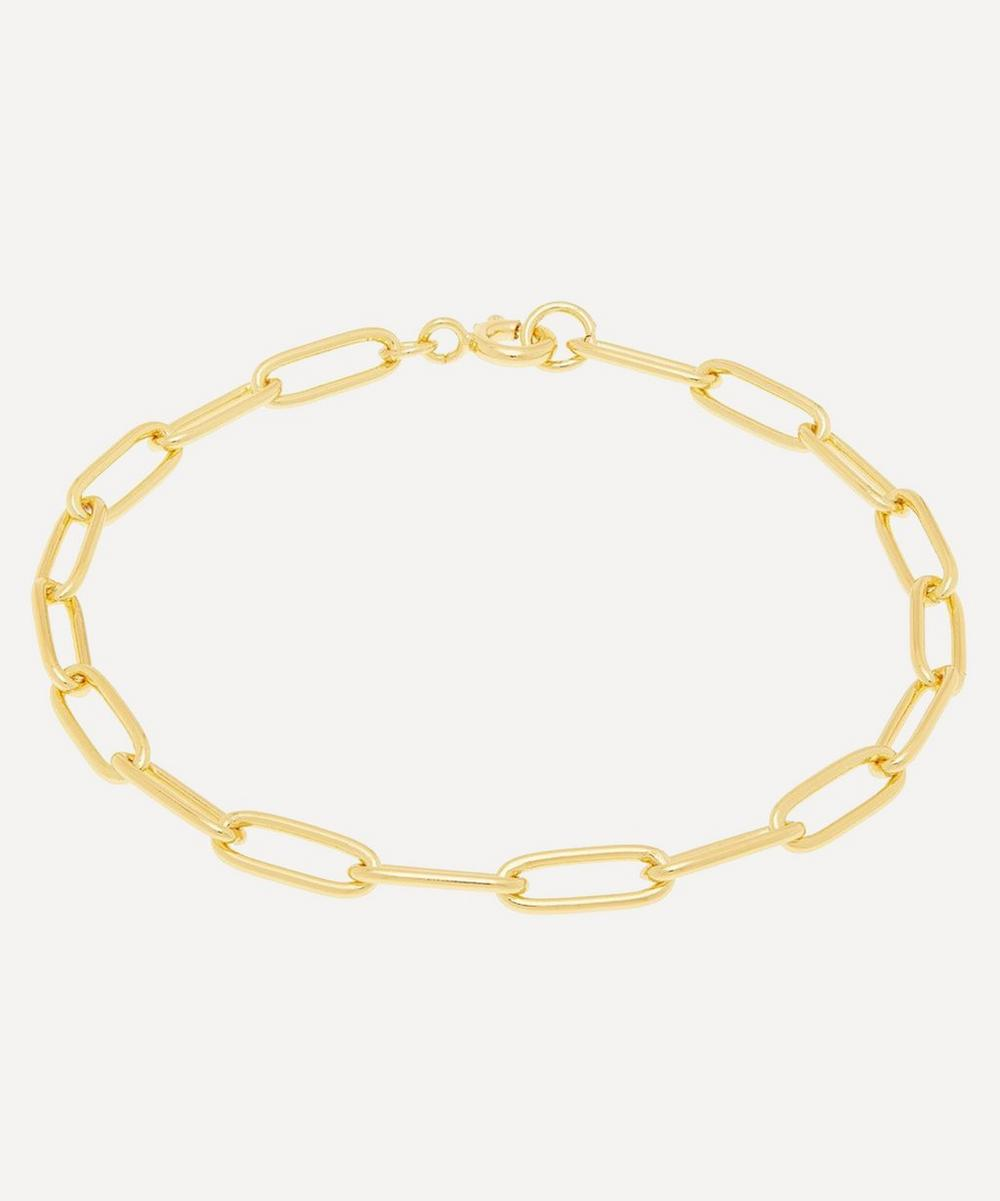THE UNIFORM - Gold-Plated Medium Chain Bracelet