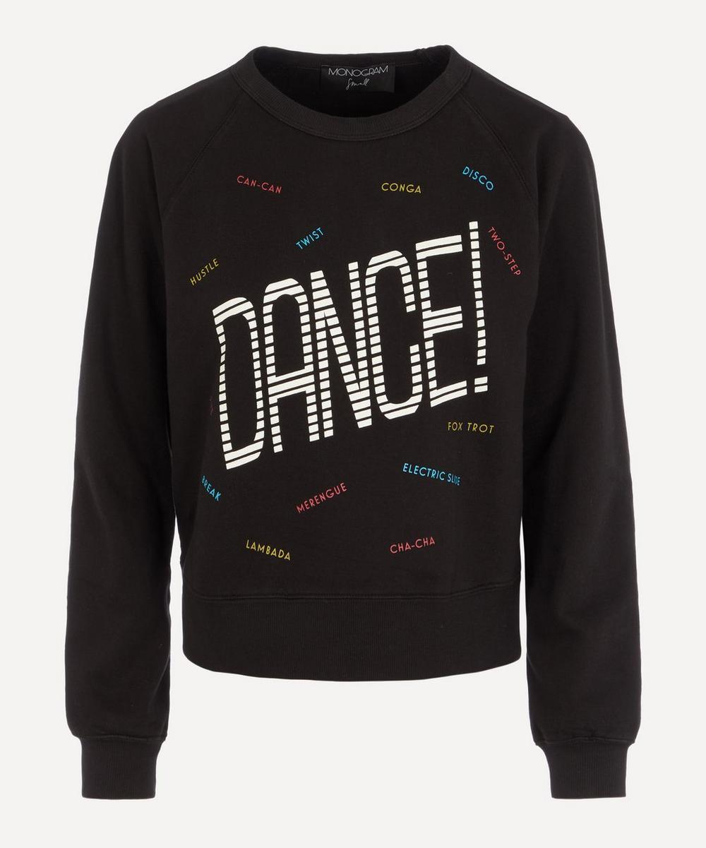 Monogram - Dance Cotton Sweatshirt