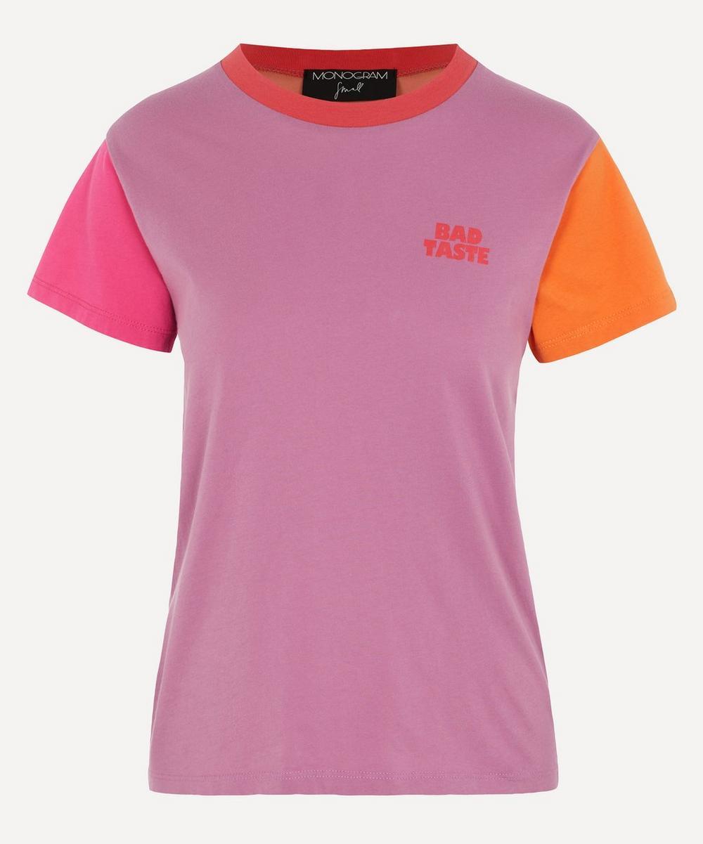 Monogram - Bad Taste Colour Block T-Shirt