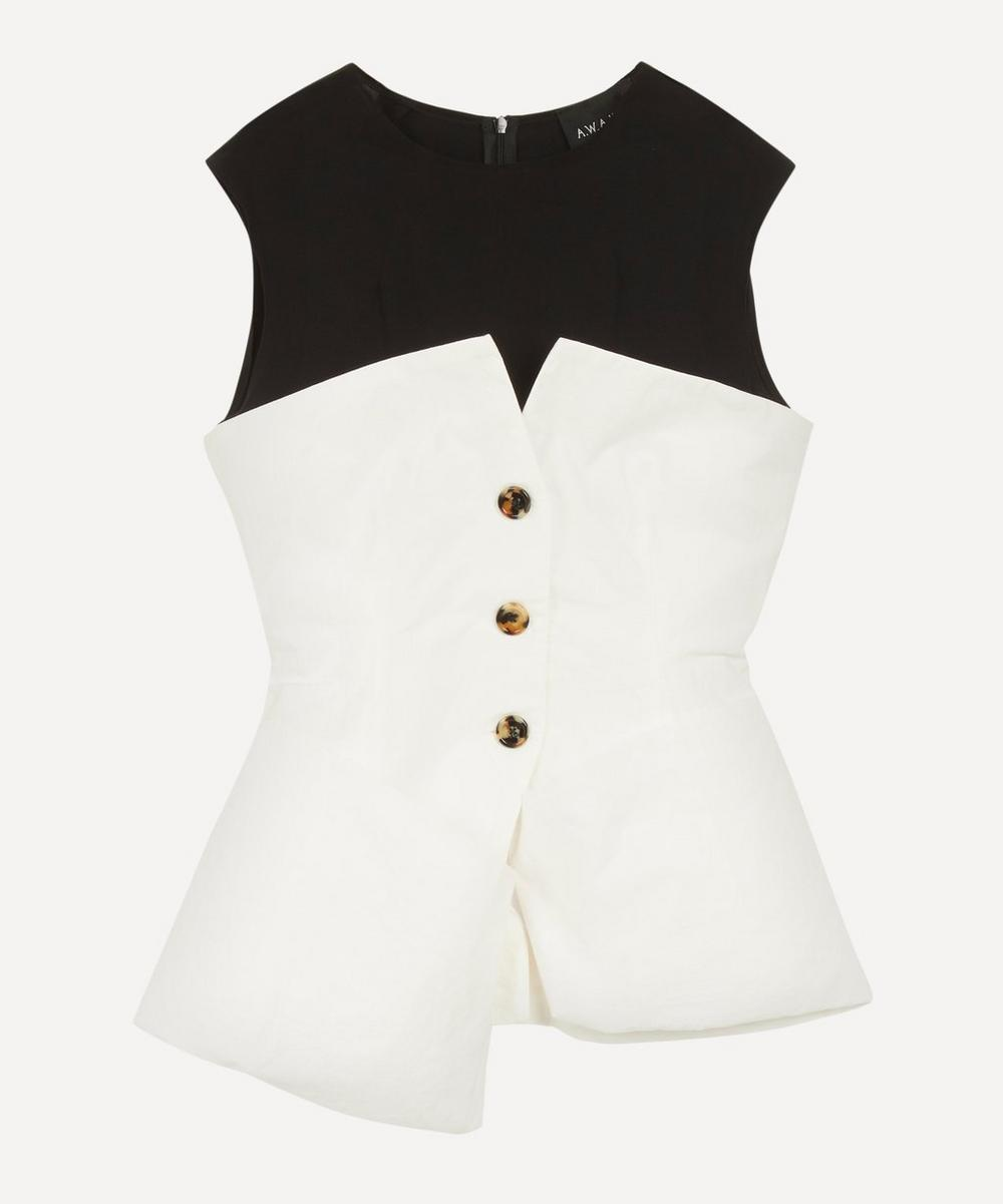 A.W.A.K.E. - Hybrid Sleeveless Cotton Bustier