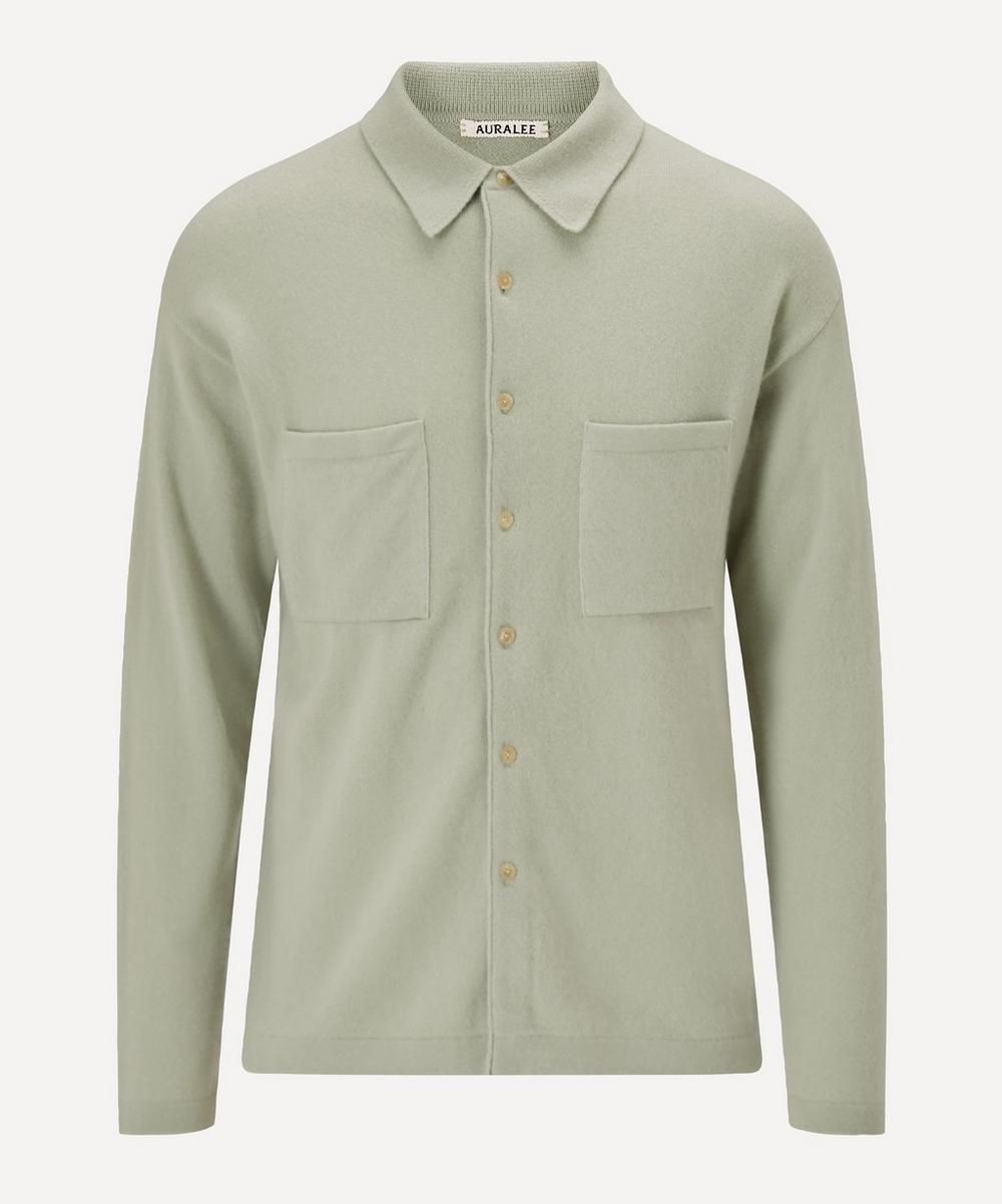 Auralee - Cashmere Long-Sleeve Shirt