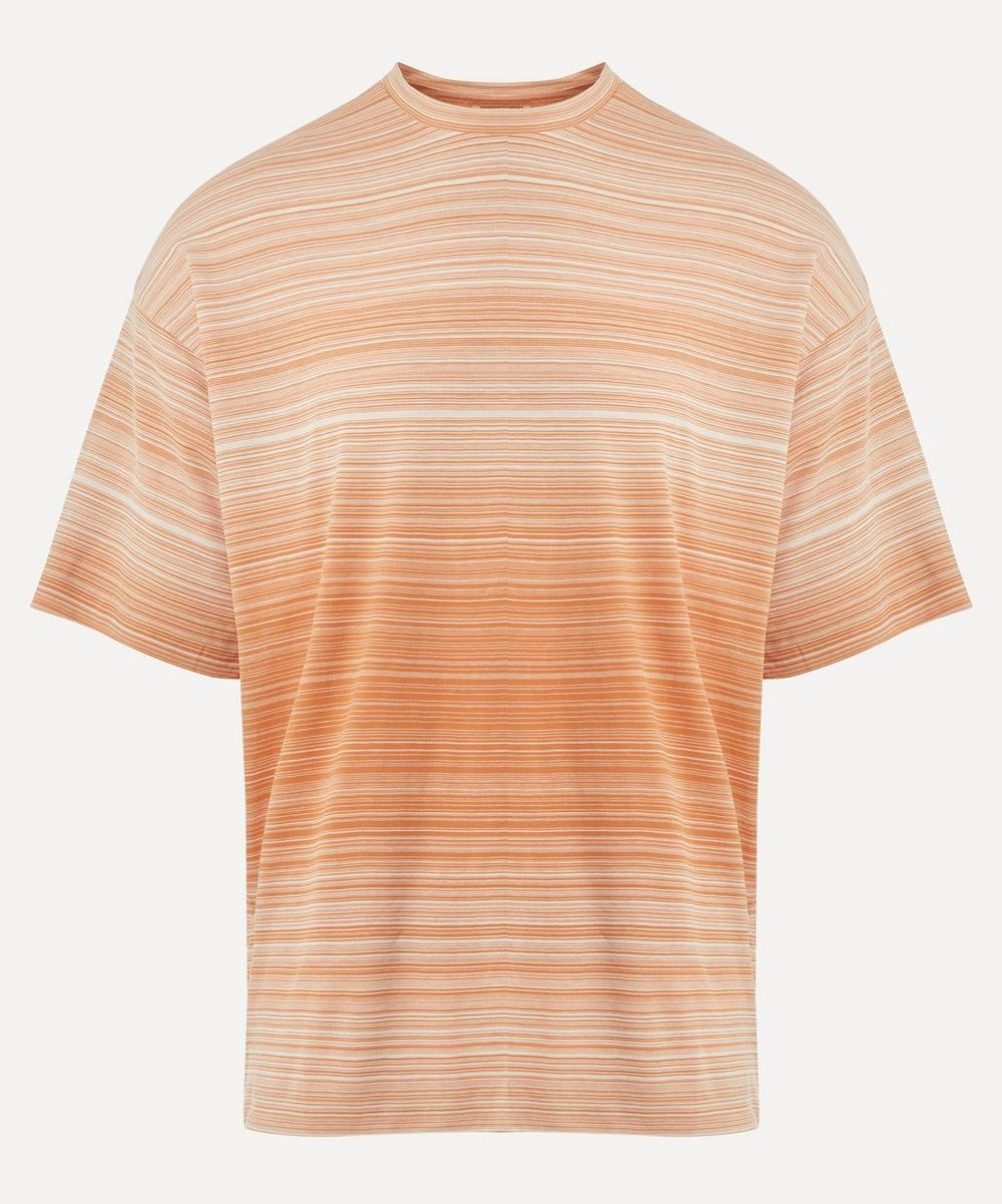 Auralee - Stripe Double Cloth T-Shirt