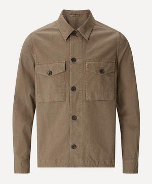 Checked Cotton Overshirt