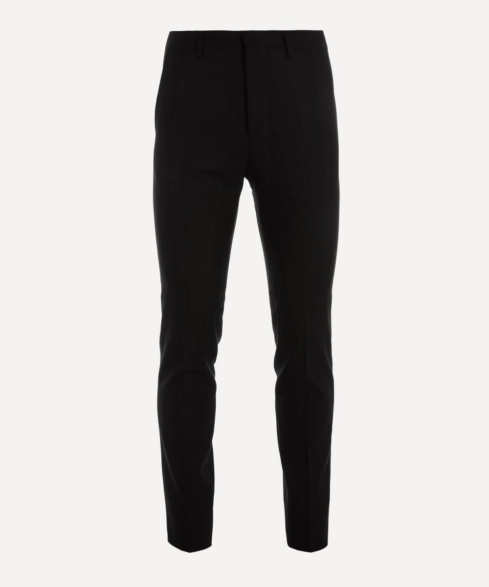 Ami - Tapered Wool Cigarette Trousers