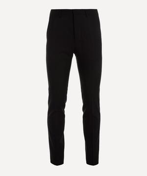Tapered Wool Cigarette Trousers
