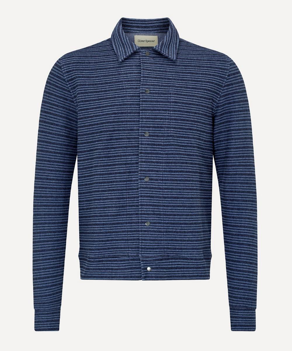 Oliver Spencer - Rundell Jersey Cotton Jacket