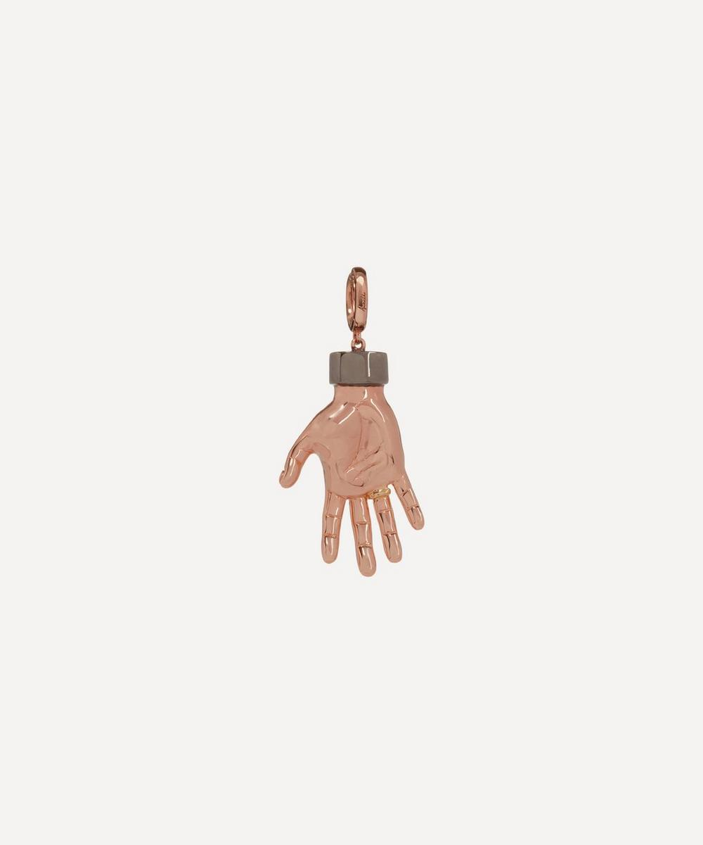 Annoushka - x The Vampire's Wife 18ct Rose Gold 'Red Right Hand' Charm