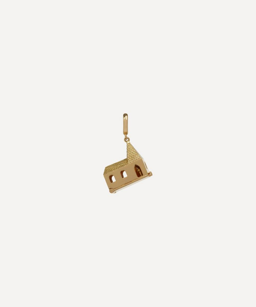 Annoushka - x The Vampire's Wife 18ct Gold 'God Is In The House' Charm