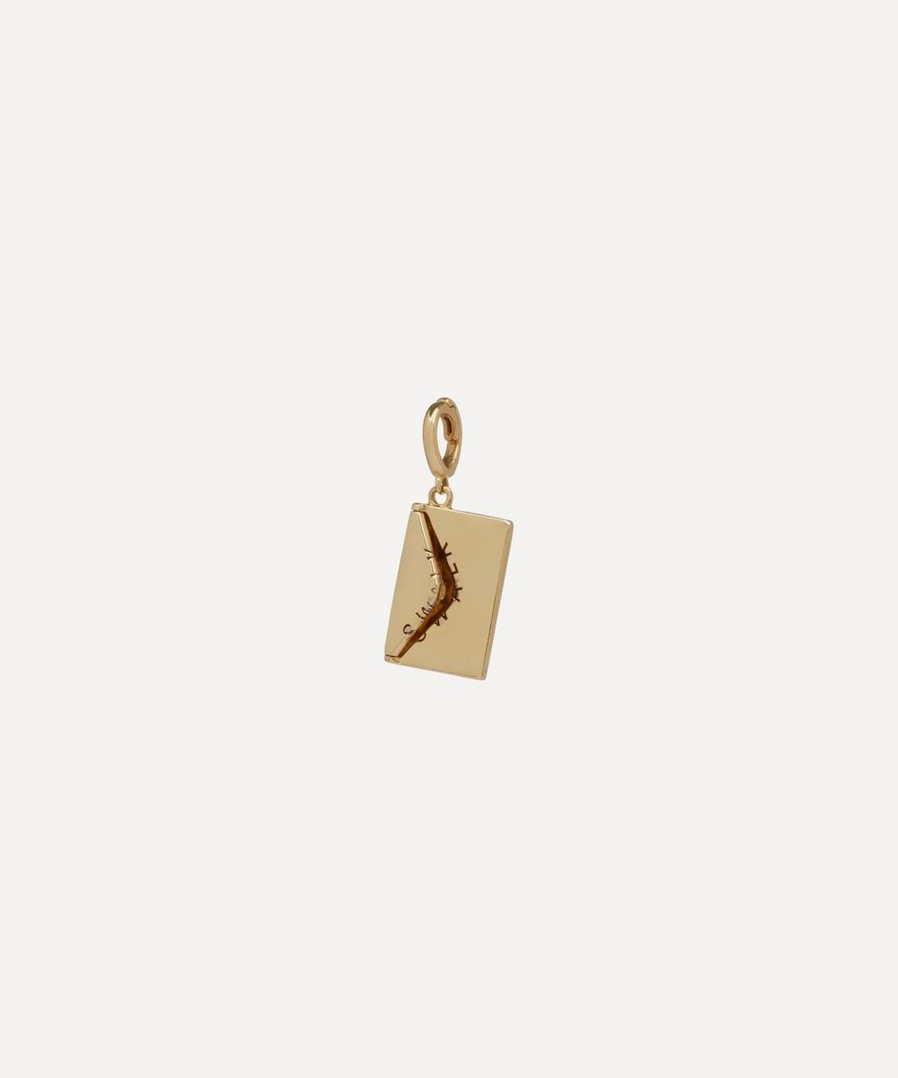 Annoushka - x The Vampire's Wife 18ct Gold 'Love Letter' Charm