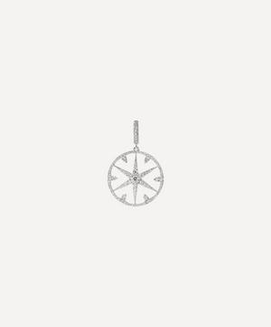 18ct White Gold Mythology Small Diamond Star Charm