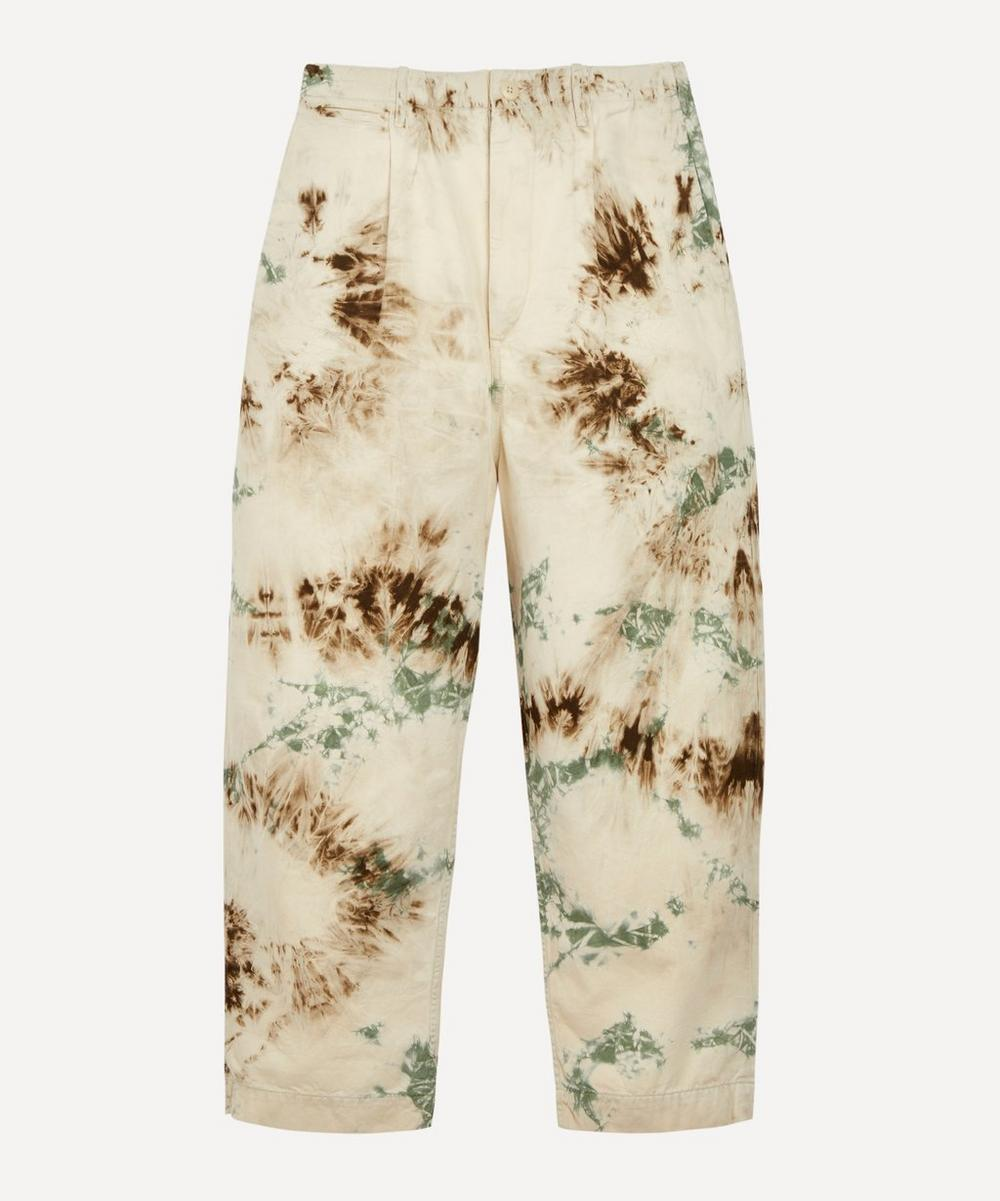 Kapital - Katsuragi Nime Tie-Dye Trousers