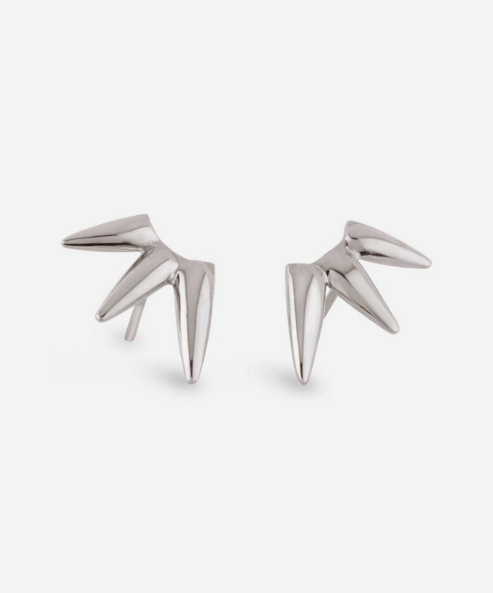Dinny Hall - Silver Sunbeam Georgie Stud Earrings