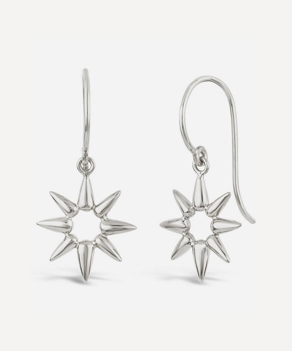 Dinny Hall - Silver Sunbeam Emma Mini Drop Earrings