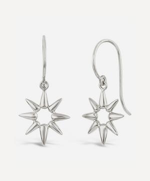 Silver Sunbeam Emma Mini Drop Earrings