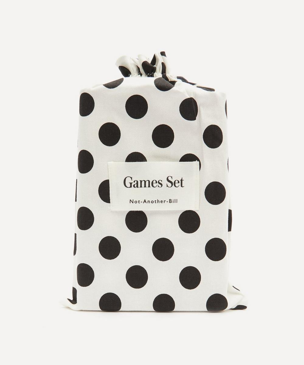 Not-Another-Bill - Leather Cards and Dice Game Set