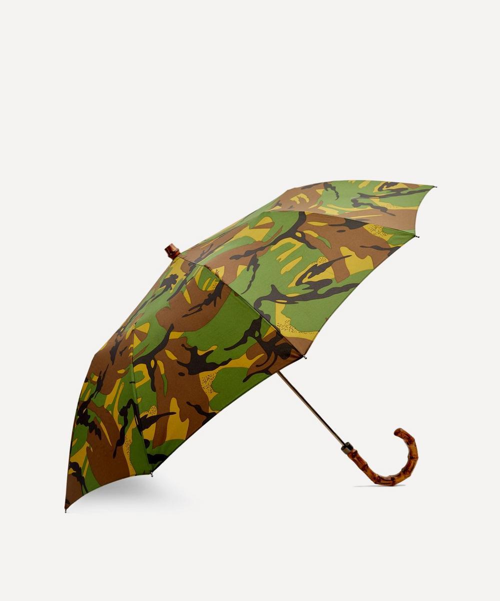 London Undercover - British Woodland Camouflage Telescopic Umbrella