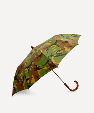 British Woodland Camouflage Telescopic Umbrella