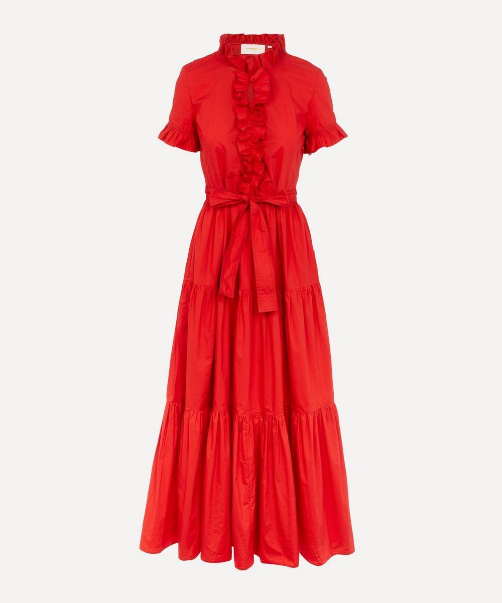 La DoubleJ - Long and Sassy Cotton Poplin Dress