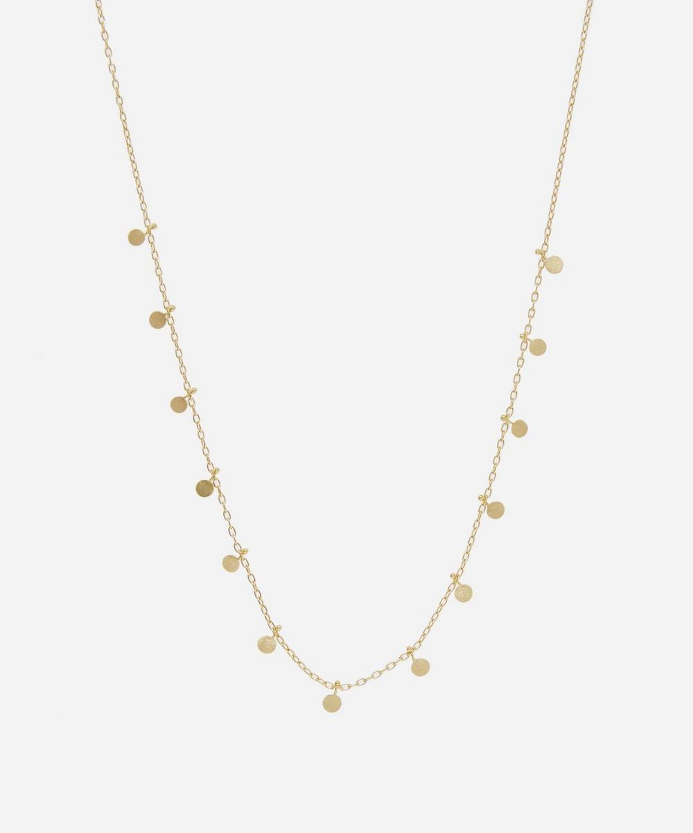Sia Taylor - Gold Little Dots Necklace