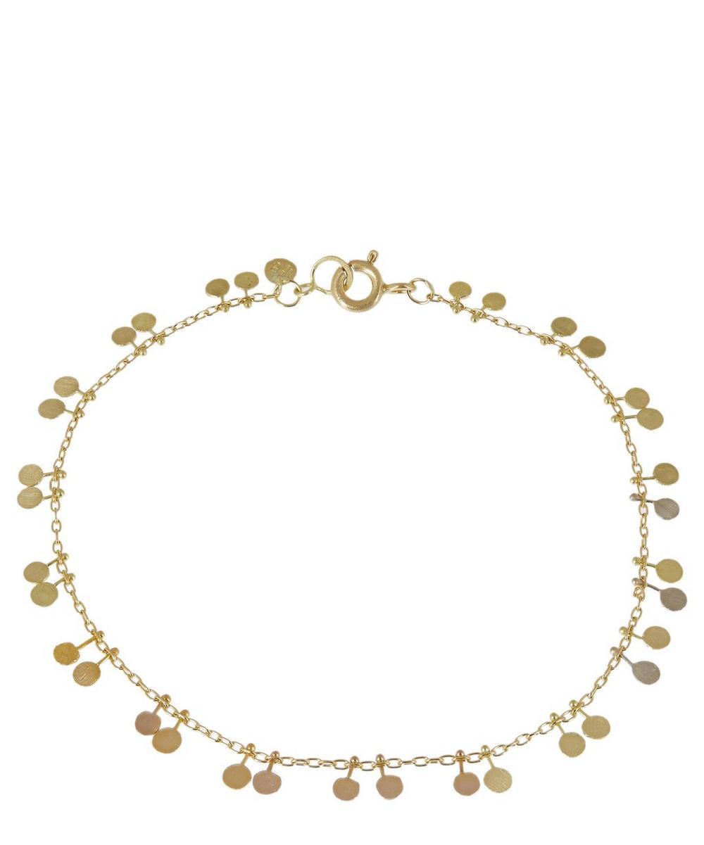 Sia Taylor - Gold Rainbow Tiny Double Dots Bracelet